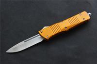 Alta qualità VESPA S35VN raso lama (S / E.D / E) di sé coltello difesa, Maniglia: Alluminio, la sopravvivenza di campeggio esterna coltelli strumenti EDC, trasporto libero