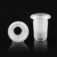Adaptateur de verre mini 10mm femelle à 14mm mâle 18mm Stringht Narguils de joint pour pipe à eau DAB