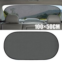 For Car UV Protection 1pc 100cm*50cm Black Side Rear Window ...