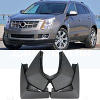 Para Cadillac SRX 2010-2016 Guardabarros Guardabarros OE Montaje Mud Flaps la aleta del fango del coche Guardabarros Guardabarros 2011 2012 2013 2014 2015