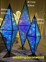 Yeni stil Zarif düğün sahne zemin dekorasyon düğün backgroup yeni lattest beyaz olay dekor decor0963