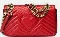 색상 사랑몽 어깨에 매는 가방 여성 파 패턴 체인 몸 가방 핸드백 유명 디자이너 지갑 높은 품질의 여성 메시지 가방 2020e3