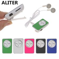 ALITER Portable Mini Clip Music Media MP3 Player With Earpho...