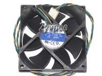AVC 80x80x25mm DS08025T12U P224 12V 0.7A 4WIRE 04X2136 CPU Server Fan 8cm DS08025T12UP224