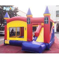 Venda quente Bounce Bounce Casa Trampoline Outdoor Salto Castelo Air Bouncer Jump Jogos Para Crianças