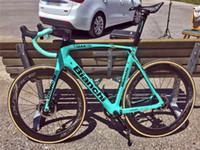 Disco de freno de disco BIANCHI OEM Carbon Road Bicicleta completa / bicicleta completa con un grupo de recuadro Carbon Aero Carbon Bike A01