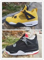 2019 New designer shoes 4 yellow white bred black red 4s low...