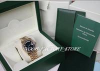 Nouvelle usine de luxe 2813 Mouvement automatique 36mm 18K 18K Jaune Diamant Dial Date Date de la journée Prési Dent Modèle 118238 avec Watch de la boîte d'origine