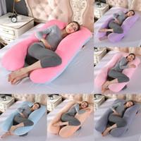 Tam Vücut Gebelik Yastık Kadınlar Hemşirelik Yastık Pamuk Yastık U şekiller Annelik Yastıklar Gebelik Yan Uyurlar Yatak