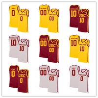 NCAA homens usc trojans faculdade basquete 10 Derozan Isaías Mobley Onyeka Okongwu Brian Scalábrine McLaughlin Chimezie Metu Agbonkpolo Jersey