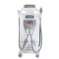 Opt SHR IPL + ND YAG Máquina láser Depilación Eliminación de tatuajes RF E-Light Skin Rejuventaión Cuidado de la piel Equipo de belleza