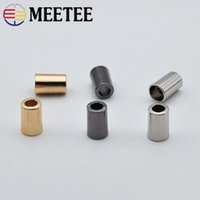 Meetee Metal Bell Buckle Stopper Cord Ends Lock Cap Rope Han...