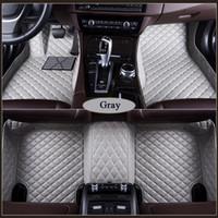 Tapis de plancher de voiture spécial en forme sur mesure 3D pour Land Rover Freelander 2 Discovery 3 4 5 Gamme Rover Sport Evoque Car Styling Doublure