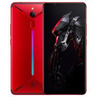 """الأصلي zte النوبة الأحمر ماجيك المريخ 4G LTE الهاتف الخليوي 6 جيجابايت RAM 64GB ROM Snapdragon 845 Octa Core Android 6.0 """"شاشة 16MP AI 3800mAh معرف بصمات الأصابع الألعاب الهاتف المحمول الذكية"""