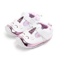 신생아 유아 아기 소녀 부드러운 어린이 신발 유아 안티 - 슬립 스니커즈 Prewalker 만화 신발
