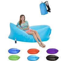 2019 Neue im Freien aufblasbare Sofa Sitz Tragbare Faule Beliebte Stuhl Strand Lehnstuhl Folding Camping Stuhl Faltbare Strand liegen