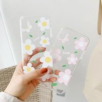 Flower Soft TPU Phone Cases Transparent Clear For Iphone XS ...