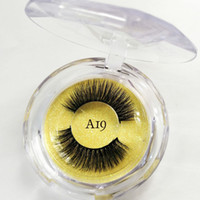 3D Faux mink lashes False Eyelashes 3D Mink Eyelashes clear ...