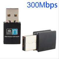 네트워크 카드 802.11 n 개의 동글 무선 와이파이 어댑터 미니 300M USB2.0 RTL8192 와이파이 동글 와이파이 / g / 무선 인터넷 LAN 어댑터 나