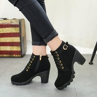 2019 Women' s High Heel Ankle Boots 2019 Ladies' Au...