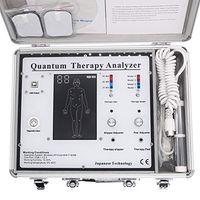 Thérapie Quantum Analyseur Massager 2022 Nouveau 53 Rapports 5 en 1 Résonance magnétique Santé Analyseur Body Santé Electroothérapie Acupuncture Electrode Tèges Tèges
