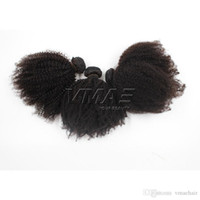 Peruvian Afro Kinky Curly 4A 4B 4C Curly Hair 8 to 24 inch V...