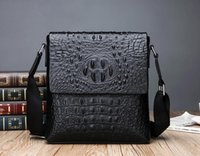 European and American trend new crocodile pattern single sho...