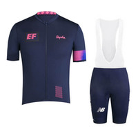 2021 Equipo EF Educación First Tour de Francia Hombres Ciclismo Jersey Trajes de bicicleta de montaña Use Ropa Ciclismo MTB Ropa de bicicleta 022702