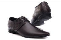 Men' S Dress Shoes Fashion Pu Leather Shoes Men Brands W...