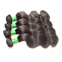 10 estensioni dei capelli umani indiani vergini prime fasci 4pieces 400g sacco capelli non trattati remy indiana 10inches colore naturale 30inches fasci