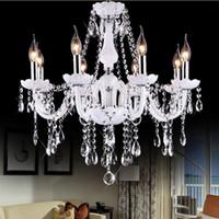 Led Kristal avize ev aydınlatma armatür cilalar de cristal Modern mutfak Yemek odası Oturma odası avizeler candelabro