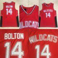 Troy Bolton Jersey # 14 Wildkatzen East High School Jerseys Mens Troy Bolton Basketball Trikots Freies Verschiffen