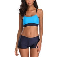 Womail bikinis 2020 mujer Women Siamese Bikini Set Push-Up StripeSwimwear Beachwear swimsuit fused bathing suit women plavky
