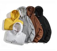 Erkekler Lüks Hoodies Uzun Kollu Mektubu Baskı Erkek Tasarımcı Hoodie Çiftler Ücretsiz Nakliye için Rahat Gevşek Tişörtü