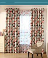 rot Einfaches moderne kundenspezifischen Vorhang Shading Isolierung fertiges Produkt Wohnzimmer Schlafzimmer Vorhang