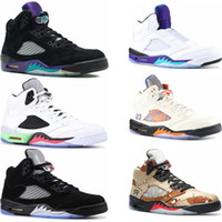 New Mens basketball shoes 5s International Flight wings spor...