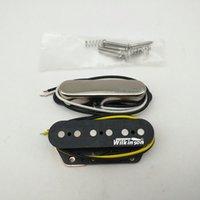 Pickup per chitarra elettrica Wvt Alnico5 Pickups Tele Style Neck e Bridge Silver 1 Set