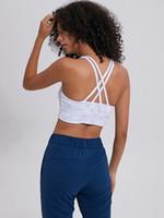 Дома носить энергетический бюстгальтер длинные линии онлайн только спортивный бюстгальтер для женщин фитнес-спортивные тренажерный зал работает с ремешками топ бесшовные Лу  у износ йоги