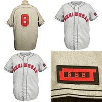 Birmingham Black Barons 1948 Road Jersey 사용자 정의 남성 여성 청소년 야구 유니폼 모든 이름과 번호 더블 스티치