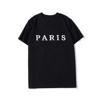 رجل المصمم T قميص الصيف عارضة قصيرة الأكمام أزياء رسالة التطريز عالية الجودة الرجال النساء الهيب هوب تيز