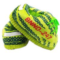 Kadınlar Kış Çizgili Terlik Unisex Bir Boyut 35-43 Sıcak Ev Terlik Kadınlar Yeşil Kapalı Snug Sneaker Isınma Ev Kat Slaytlar