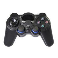 1pcs 2.4g 무선 게임 플레이어 컨트롤러 Gamepad 조이스틱 미니 키보드 remoter 여러 장치와 호환, PK manette ps4