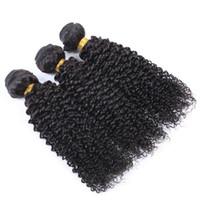 البرازيلي العذراء الشعر البشري الأفرو غريب مجعد موجة غير المجهزة ريمي الشعر ملحقات مزدوجة لحمة حزم 3bundle الكثير