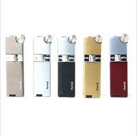 Aomai Compact Jet 부탄 라이터 그라인딩 휠 화재 직선 담배 흡연 라이터 없음 가스 레이디 선물 4 스타일 선택