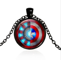En Europa y los Estados Unidos, el popular collar de marvel movie iron man heart time jewel pendant necklace wholesale