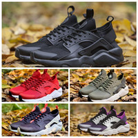 Nike Air Huarache Ultra 2018 Huarache Run Ultra 4 IV Zapatillas de running Hombres Mujeres de calidad superior Huarache Run Ultra Multicolor Sneakers Athletic Trainers