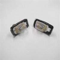 Car Rear License Plate Lights Registration Plate Lamps For Mazda 323 Miata Tribute Protege & MPV
