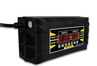 50 개 똑똑한 배터리 충전기 12V6A10A EU/미국 관리자 Desulfator 을 위한 납축 전지 자동차 배터리 충전기 110-240V