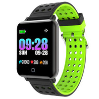 Smart Watch M19 1,3 Zoll IPS Bluetooth Wetter Schritt Herzfrequenz Blutdruck Sauerstoffüberwachung 8 Sportmodus Armband Geschenke