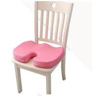 Viagem Memory Foam Almofada Cadeira Ortopédica Cushion Pad Escritório Car Hips cóccix Cóccix Proteja saudável que senta U Almofadas